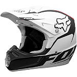 2013 Fox V3 Helmet - Fathom - Fox Dirt Bike Riding Gear