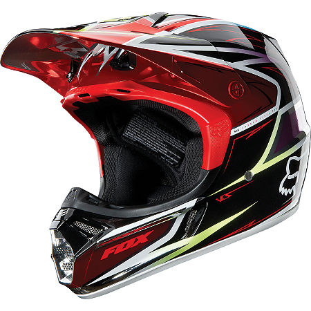 2013 Fox V3 Helmet - Race - Main