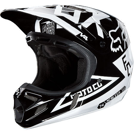 2013 Fox V4 Helmet - Machina - Main