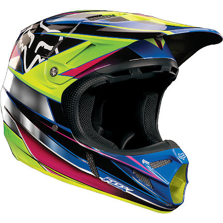 2013 Fox V4 Helmet - Race - Main