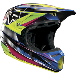 2013 Fox V4 Helmet - Race - 2013 Fox V3 Helmet - Fathom