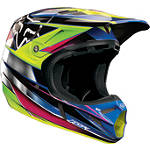 2013 Fox V4 Helmet - Race - Fox Dirt Bike Off Road Helmets