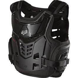 Fox Youth Raptor Roost Deflector - Atlas Youth Tyke Neck Brace
