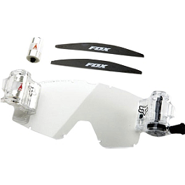 Fox Main Goggles Roll-Off Accessory Kit - Fox Dual Vented Goggle Lens