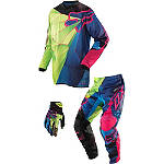 2014 Fox 180 / HC Combo - Radeon - Fox Dirt Bike Pants, Jersey, Glove Combos