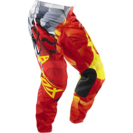 2014 Fox 180 Pants - Radeon - 2014 Fox Dirtpaw Gloves - Radeon