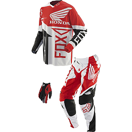 2014 Fox 360 Combo - Honda - 2014 One Industries Atom Combo - Honda