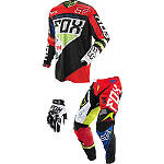 2014 Fox 360 Combo - Intake - Fox Dirt Bike Pants, Jersey, Glove Combos