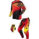 2014 Fox 360 Combo - Flight - Fox Dirt Bike Pants, Jersey, Glove Combos