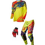 2014 Fox 360 Combo - Forzaken LE - Fox Dirt Bike Pants, Jersey, Glove Combos
