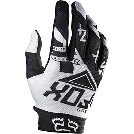 2014 Fox 360 Gloves - Intake - 2014 Fox Flexair Gloves - Given
