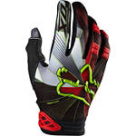 2014 Fox Dirtpaw Gloves - Radeon - Fox Dirt Bike Gloves