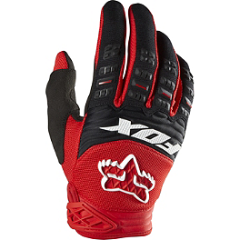 2014 Fox Dirtpaw Gloves - Race - 2014 Fox HC Jersey - Race