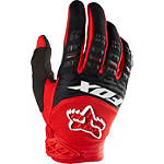 2014 Fox Dirtpaw Gloves - Race - Dirt Bike Riding Gear