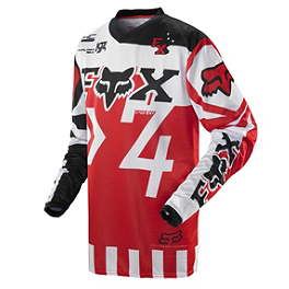 2014 Fox HC Jersey - Anthem - 2014 Fox Dirtpaw Gloves - Anthem
