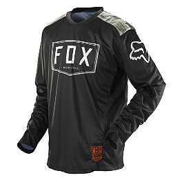 2014 Fox Nomad Jersey - Machina - 2014 Fox Bomber S Gloves