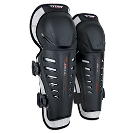 2014 Fox Titan Race Knee / Shin Guards - 2014 Fox Titan Pro Knee / Shin Guards