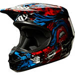 2014 Fox V1 Helmet - Creepin - Dirt Bike Helmets and Accessories