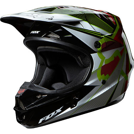 2014 Fox V1 Helmet - Radeon - Main