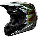 2014 Fox V1 Helmet - Radeon - Utility ATV Off Road Helmets