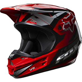 2014 Fox V1 Helmet - Race - 2014 Fox V1 Helmet - Matte