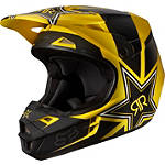 2014 Fox V1 Helmet - Rockstar - Dirt Bike Helmets and Accessories