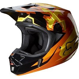 2014 Fox V2 Helmet - Anthem - 2014 Fox V2 Helmet - Given