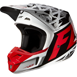 2014 Fox V2 Helmet - Given - 2014 Fox V1 Helmet - Race