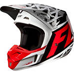 2014 Fox V2 Helmet - Given - Fox Dirt Bike Riding Gear