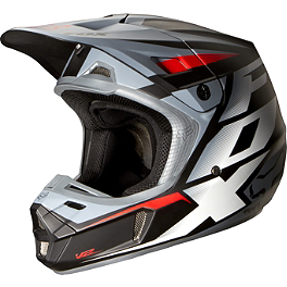 2014 Fox V2 Helmet - Matte - 2014 Fox V2 Helmet - Race