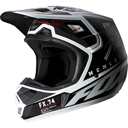 2014 Fox V2 Helmet - Overseer - 2014 Fox V2 Helmet - Anthem