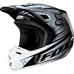 2014 Fox V2 Helmet - Race - Fox Dirt Bike Helmets and Accessories