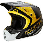 2014 Fox V2 Helmet - Rockstar - Fox Dirt Bike Helmets and Accessories