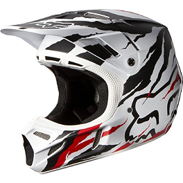 2014 Fox V4 Helmet - Forzaken - 2013 Fox V4 Helmet - Machina