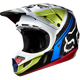 2014 Fox V4 Helmet - Intake - 2013 Fox V4 Helmet - Race
