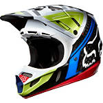 2014 Fox V4 Helmet - Intake - FOUR Dirt Bike Helmets and Accessories