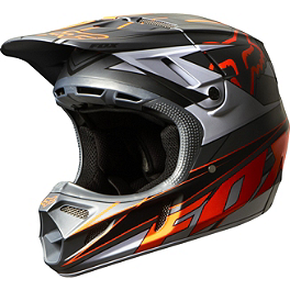 2014 Fox V4 Helmet - Race - 2013 Fox V4 Helmet - Machina