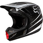 2014 Fox V4 Helmet - Carbon Reveal - FOUR Dirt Bike Helmets and Accessories