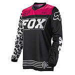 2014 Fox Women's HC Jersey - Dirt Bike Riding Gear
