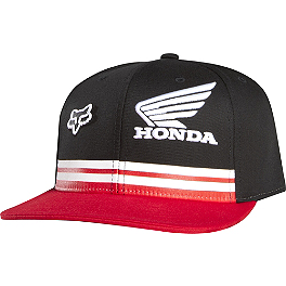 Fox Honda Race 110 Snapback Hat - Fox Honda Standard Flexfit Hat