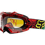 Fox AIRSPC Goggles - MENS--VIDEO Dirt Bike Protection