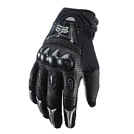 2014 Fox Bomber Gloves - 2013 Troy Lee Designs Moto Gloves