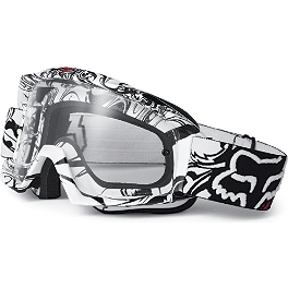 Fox Main Goggles - 2012 Fox V1 Helmet - Race