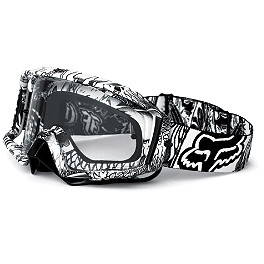 Fox Main Pro Goggles - 2012 Fox Pawtector Gloves