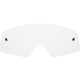Fox Youth Main Goggle Lens - Fox Youth Main Standard Tear-Offs - 25 Pack