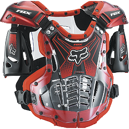 2014 Fox Airframe Chest Protector - 2014 Fox R3 Roost Deflector - Mens