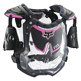 2014 Fox Women's R3 Chest Protector  - 2014 Fox Women's Comp 5 Boots