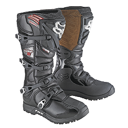 2014 Fox Comp 5 Boots - Offroad  - 2013 Fly Racing Kinetic Boots