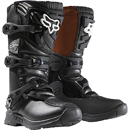 2014 Fox Youth Comp 3 Boots  - 2013 MSR Youth VX-1 Boots