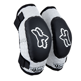 2013 Fox Youth Titan Elbow Guards  - 2013 Fox Youth Titan Race Knee Guards